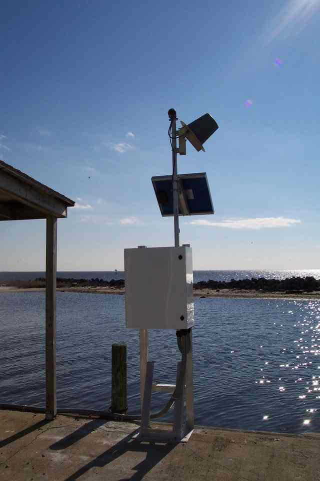 Photo of station #8655875, Sea Level, NC