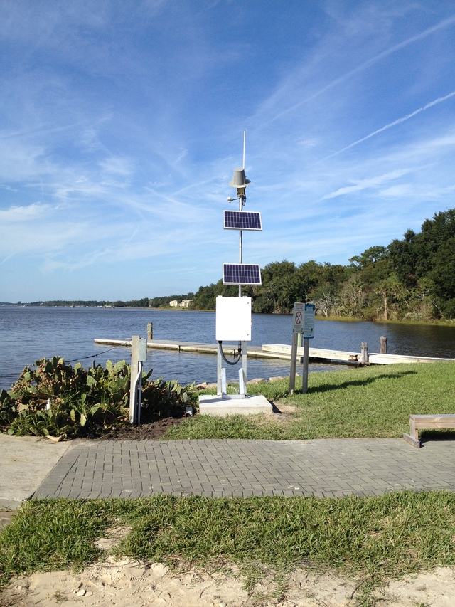 Photo of station #8720245, Jacksonville University, FL