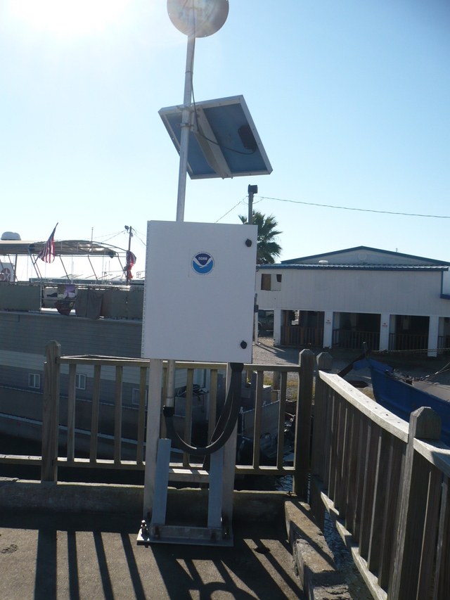 Photo of station #8765251, Cypremort Point, LA