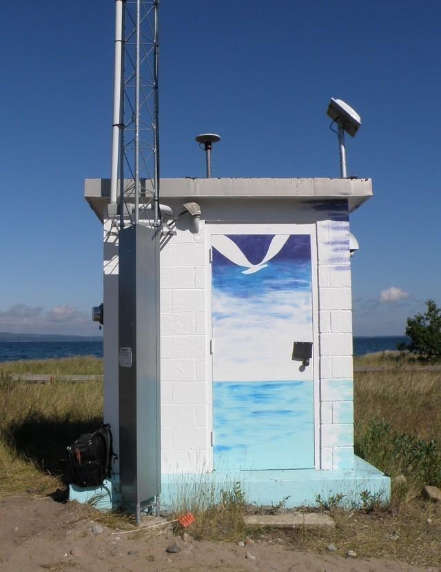 Photo of station #9099004, Point Iroquois, MI