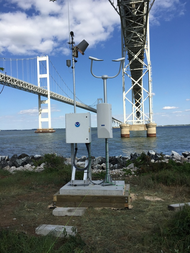 Photo of station #8575437, Chesapeake Bay Bridge, MD
