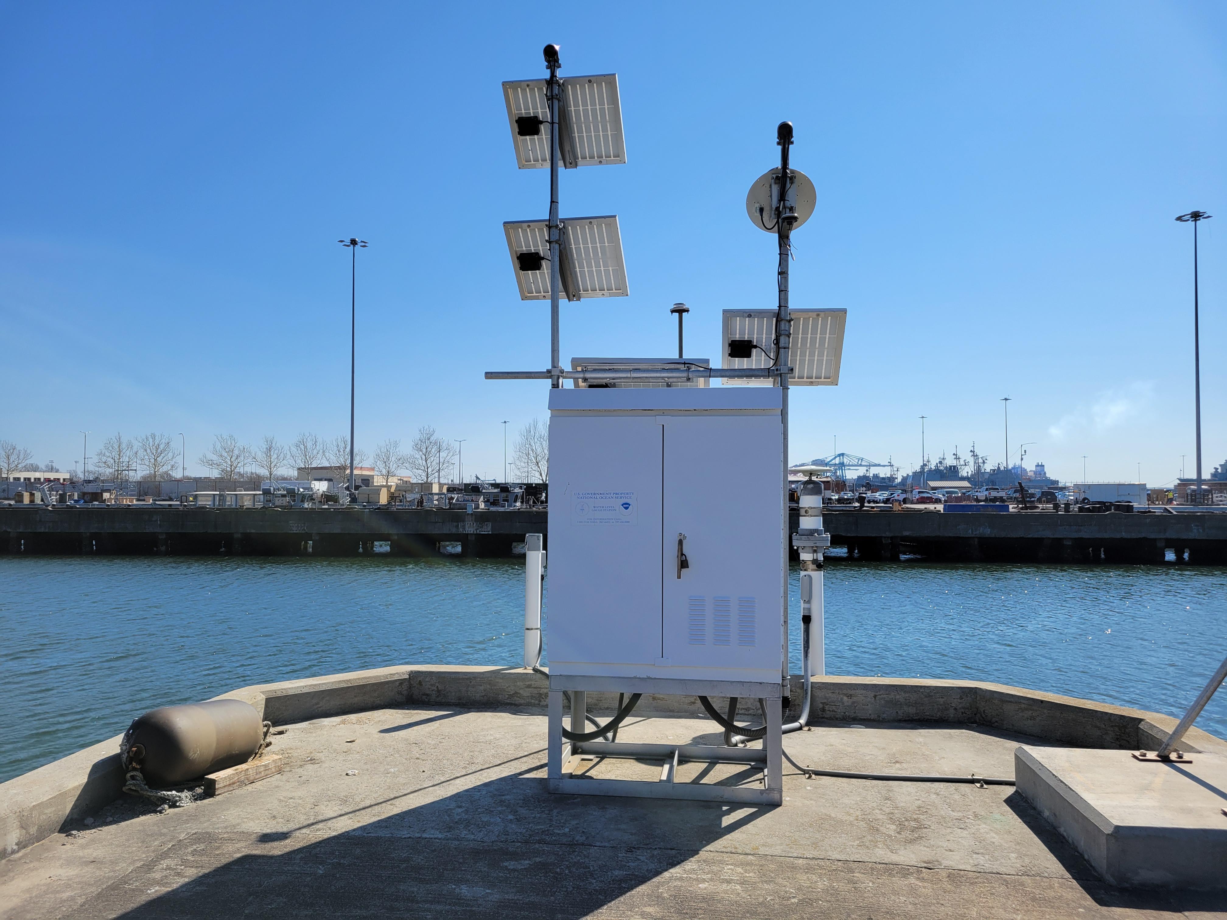 Photo of station #8638610, Sewells Point, VA