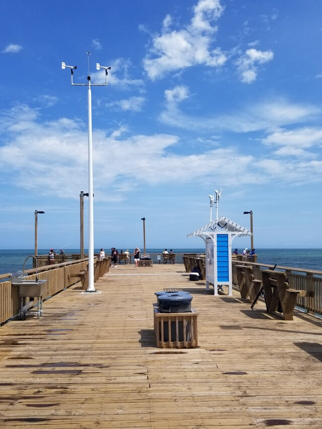 Photo of station #8661070, Springmaid Pier, SC