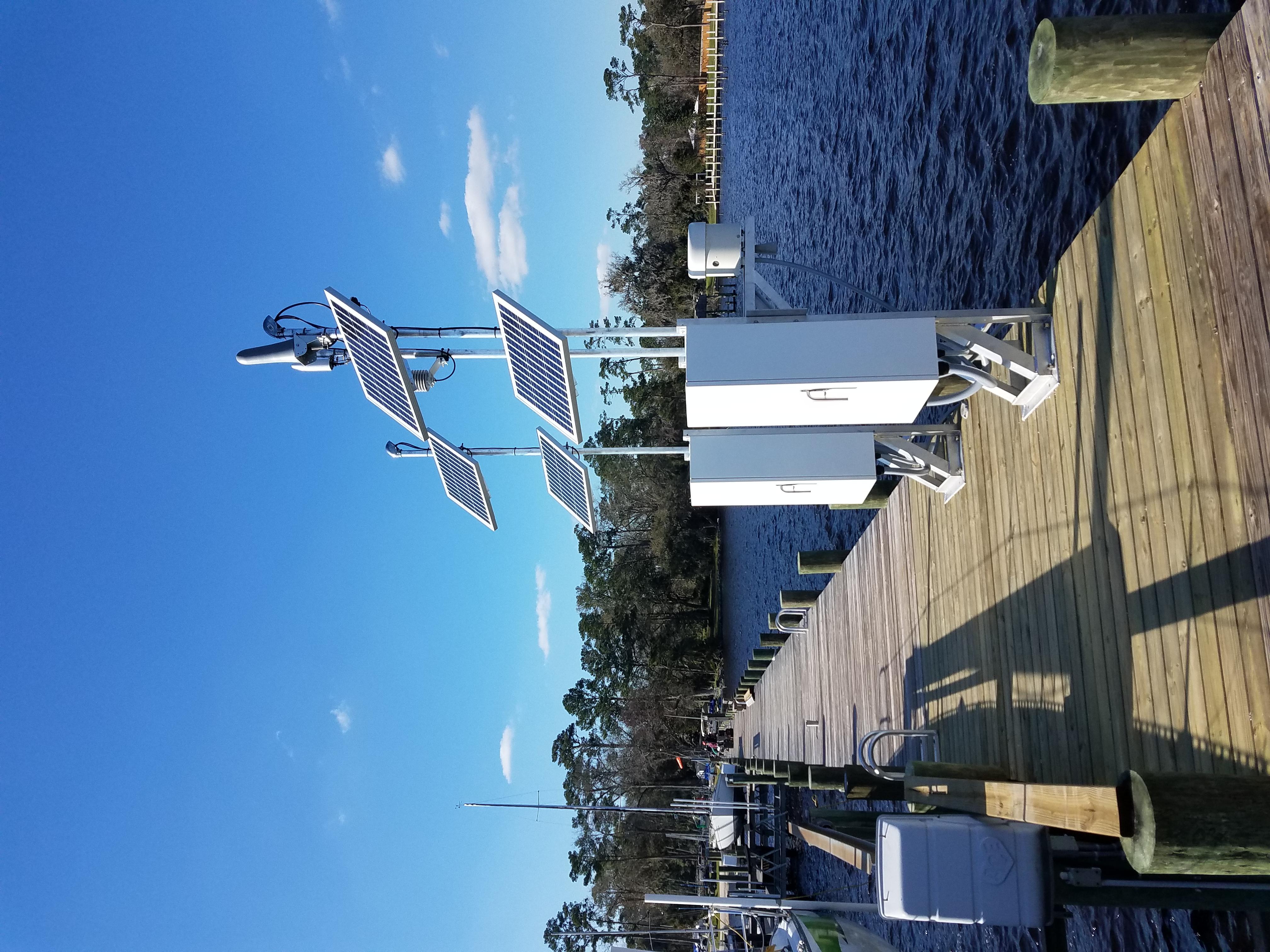 Photo of station #8720357, I-295 Bridge, St Johns River, FL