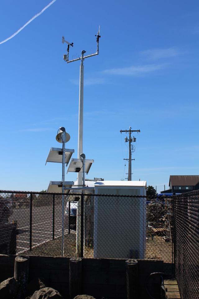 Photo of station #9440910, Toke Point, WA