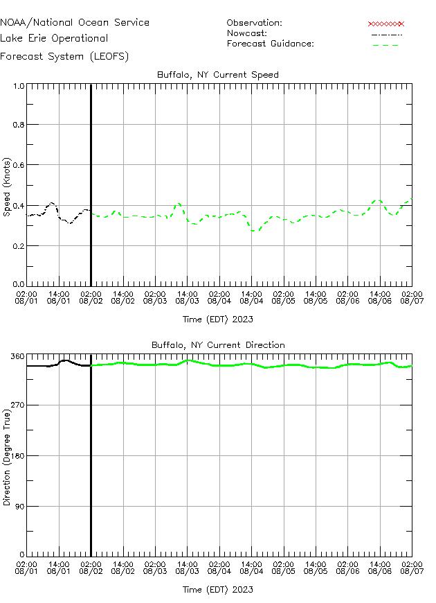 Buffalo Currents Times Series Plot
